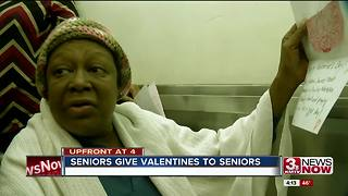 5K Seniors get handmade valentines - Video