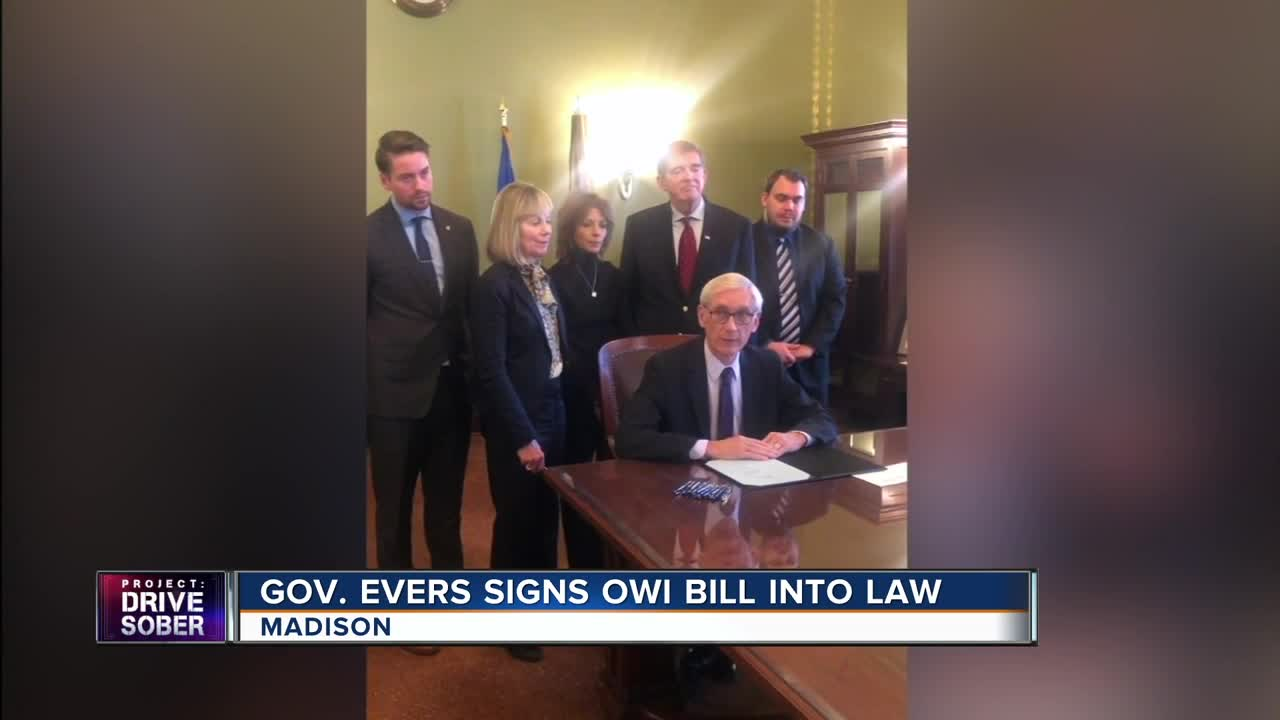 Gov. Evers signs mandatory five-year sentence bill for OWIs involving homicides