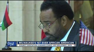 Milwaukee's first African American county executive dies - Video