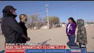 Migrant: Biden Promised That We Could Cross Border