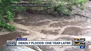 Improvements made after deadly Payson floods - Video