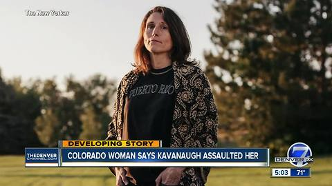 Former supervisor of Colorado Kavanaugh accuser lauds her integrity, work with victims of violence