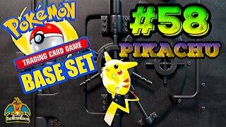 Pokemon Base Set #58 Pikachu | Card Vault
