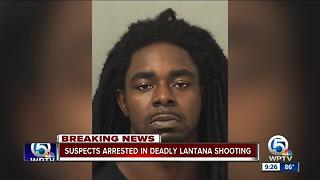 2 charged in fatal shooting Sunday night near Lantana - Video