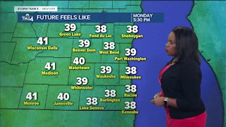 Gusty winds and cool temperatures continue Sunday
