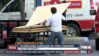 During hurricane preps, home improvement stores not fulfilling online orders - Video