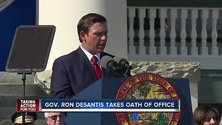 Gov. Ron DeSantis takes oath of office