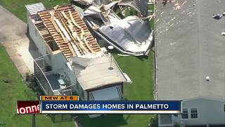 Strong winds rip roofs from Palmetto homes after Sunday night storm