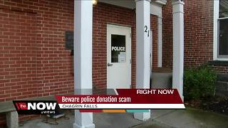 Police scam making rounds in Chagrin Falls - Video