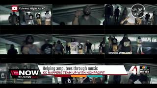 Local hip-hop group teams up with nonprofit group - Video