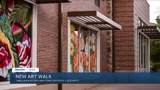 Mile-long art work opening at Orchard Town Center in Broomfield