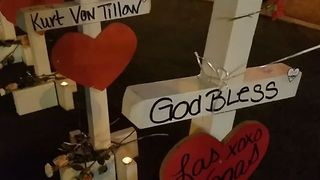 Crosses Erected to Memorialize Las Vegas Shooting Victims