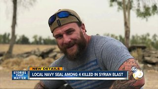 Local Navy Seal among 4 killed in Syrian Blast
