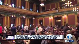 Michigan looks at controversial insurance reform - Video