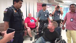 Canadian arrested after Bangkok airport restaurant rampage - Video