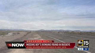 Remains of Jesse Wilson found in Buckeye, according to police - Video
