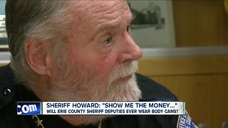 Sheriff Howard discusses body cameras
