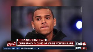 Chris Brown arrested in Paris on allegations of rape, source says