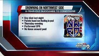 Two-year-old dies after drowning incident