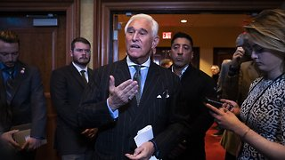 Roger Stone Says He Hasn't Ruled Out Cooperating With Special Counsel