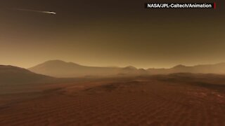 NASA's Perseverance rover touched down on Mars Thursday.