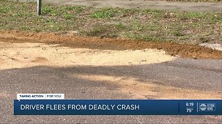 St. Petersburg police search for suspect of deadly hit-and-run crash