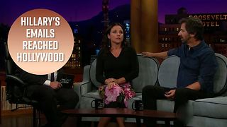 Julia Louis-Dreyfus was in Hillary Clinton's emails - Video