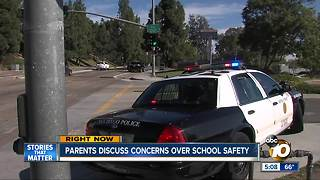 Parents discuss school safety concerns - Video