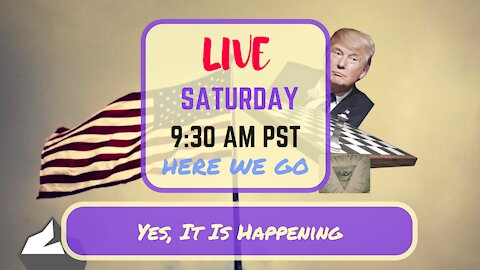 Saturday *LIVE*: Yes, It Is Happening Edition