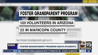 Foster grandparent program helps students