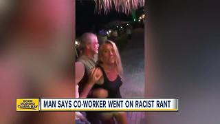 Woman calls co-worker the N-word at Florida restaurant - Video