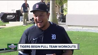 First full-squad workouts begin at Spring Training