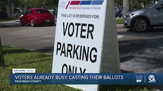 Palm Beach County mail-in ballots being returned early, in big numbers