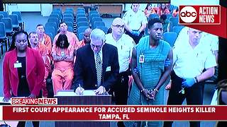 Suspected Seminole Heights Killer Howell Donaldson III to be held without bond - Video