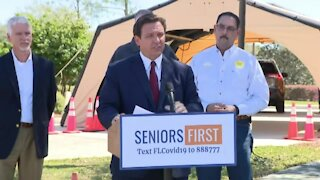 Gov. Ron DeSantis announces pop-up vaccine site in Ocala (16 minutes)