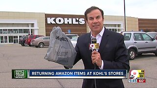 Amazon items can be returned to Kohl's
