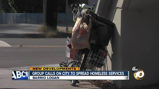 Groups calls on City to spread homeless services - Video