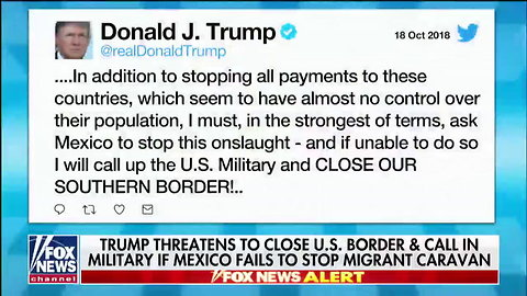 With 1 Statement Trump Had Caravan Organizer In Custody & 3 Countries Desperately Trying To Stop Immigrants