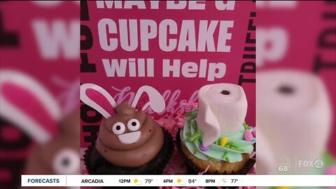 Fort Myers bakery inspired by the toilet paper shortage for new cupcakes