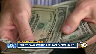 Shutdown could hit San Diego even harder - Video