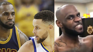 Steph Curry Denies Making Fun of the LeBron James Challenge, DEFENDS Kyrie Irving - Video