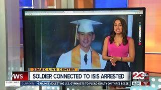 U.S. Soldier arrested in connection to ISIS - Video