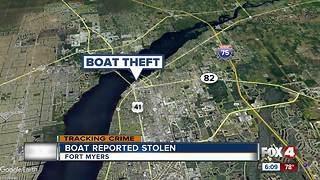 Mans boat stolen in North Fort Myers - Video