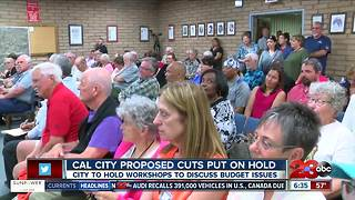 Cal City proposed budget cuts put on hold - Video