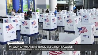 Michigan GOP lawmakers back lawsuit aiming to overturn election results