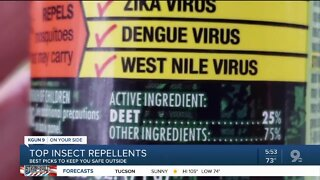 Consumer Reports: Protect your kids from insects