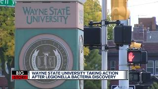 Legionella identified at multiple locations on Wayne State University campus - Video