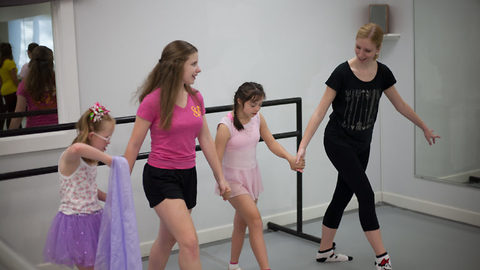 Kids with down syndrome get free ballet classes – and it's the sweetest thing