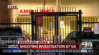 Police investigation at Phoenix VA hospital - Video