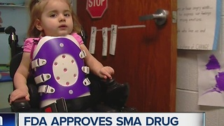 FDA approves SMA drug - Video